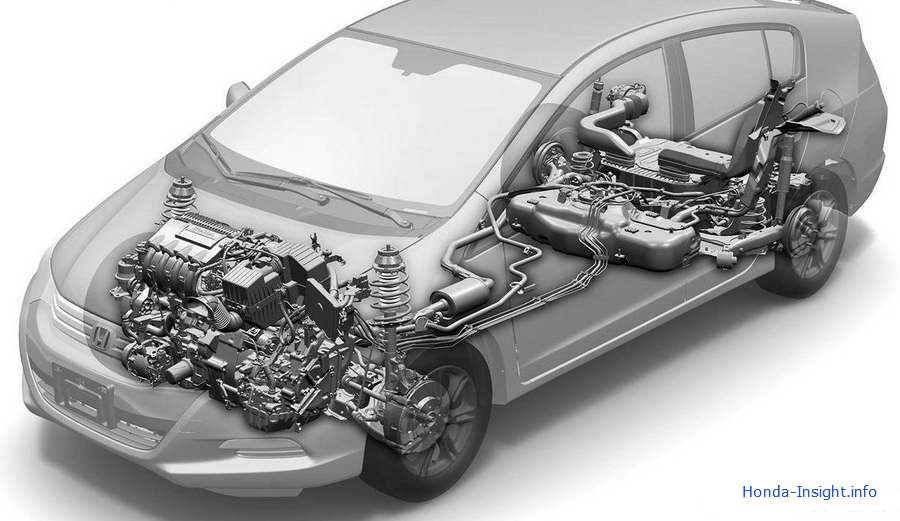 IMA Integrated Motor Assist Honda Insight