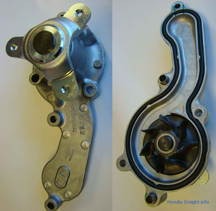 Водяной насос Honda Insight Хонда Инсайт Water pump 19200-RBJ-003