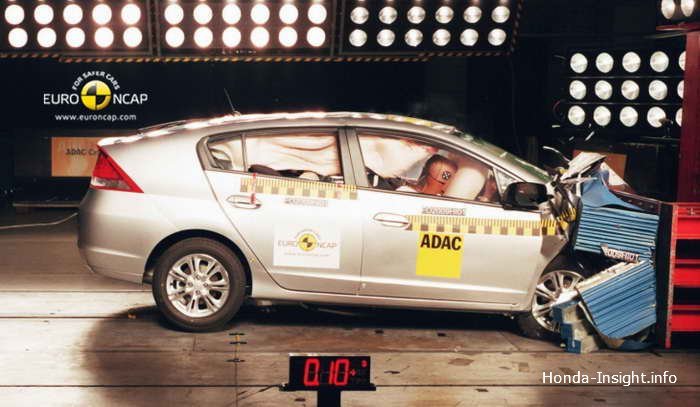 Краш-тест Euro NCAP Honda Insight
