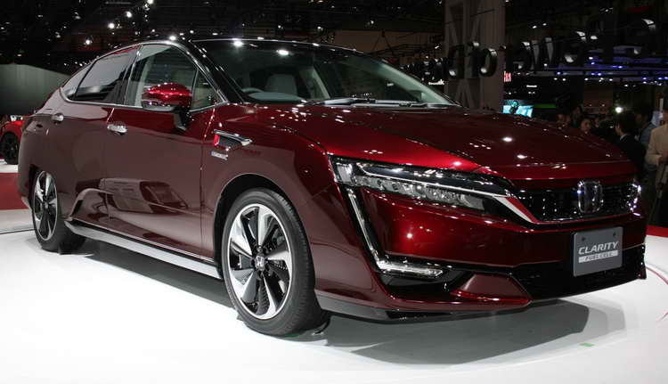 Honda Clarity Fuel Cell 2017 фото