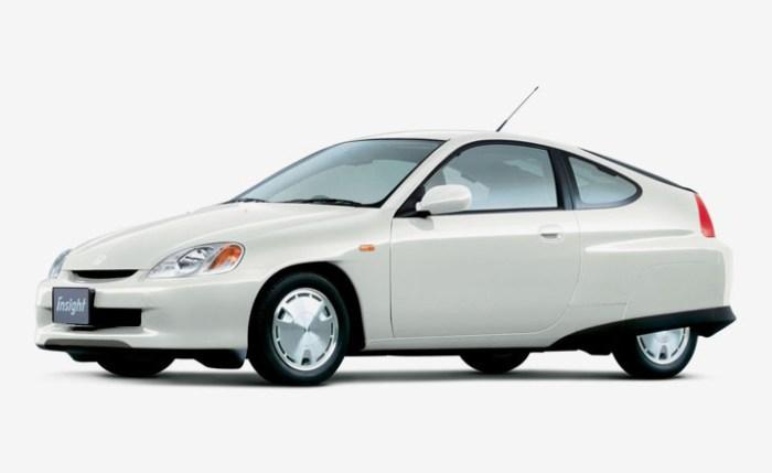 Honda Insight 1 поколение