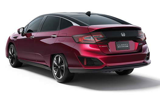 фото Honda Clarity Fuel Cell