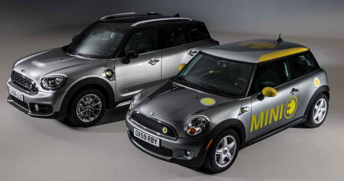 Гибрид MINI Cooper SE Countryman All4 2017 фото