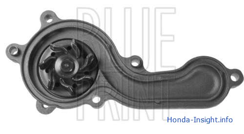 Водяной насос Honda Insight Хонда Инсайт Water pump BLUE PRINT ADH29156